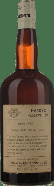 HARDY'S Reserve Bin C255 Show Tawny Port, McLaren Vale 1943