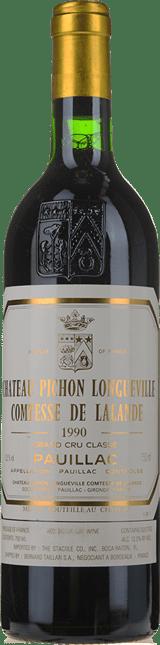 CHATEAU PICHON-LONGUEVILLE LALANDE 2me cru classe, Pauillac 1990