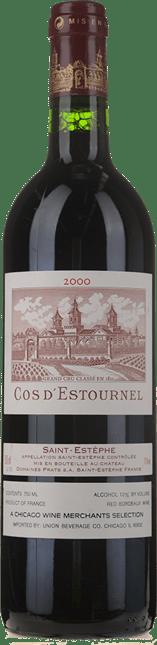 CHATEAU COS D'ESTOURNEL 2me cru classe, St-Estephe 2000