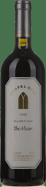 CHAPEL HILL The Vicar Shiraz Cabernet, McLaren Vale 1998