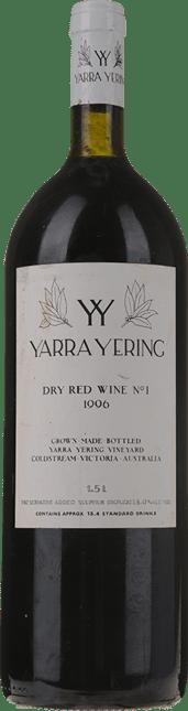 YARRA YERING Dry Red Wine No.1 Cabernets, Yarra Valley 1996