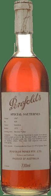 PENFOLDS Bin 868 Special Sauternes, Barossa Valley 1967