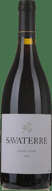 SAVATERRE Pinot Noir, Beechworth 2004