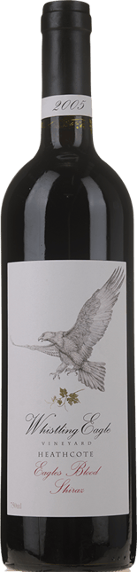 WHISTLING EAGLE Eagles Blood Shiraz, Heathcote 2005