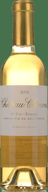 CHATEAU CLIMENS 1er cru classe, Sauternes-Barsac 2014
