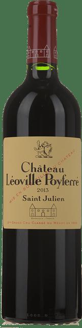 CHATEAU LEOVILLE-POYFERRE 2me cru classe, St-Julien 2013