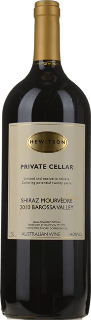 HEWITSON Private Cellar Shiraz Mourvedre, McLaren Vale 2010