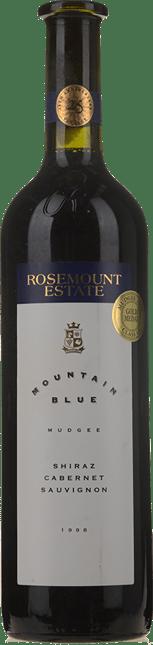 ROSEMOUNT ESTATE Mountain Blue Shiraz Cabernet, Mudgee 1998