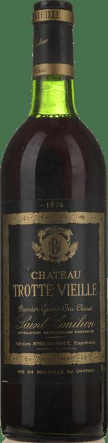 CHATEAU TROTTEVIEILLE 1er grand cru classe (B), St-Emilion 1975