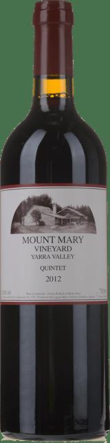 MOUNT MARY Quintet Cabernet Blend, Yarra Valley 2012