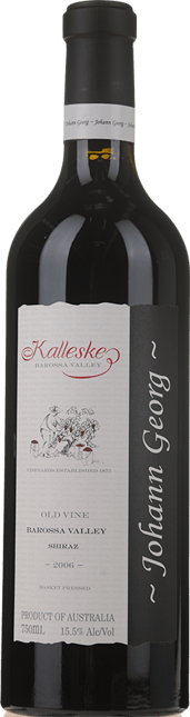 KALLESKE Johann Georg Old Vine Shiraz, Barossa Valley 2006