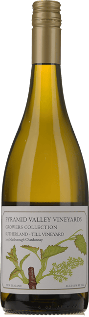 PYRAMID VALLEY VINEYARDS Growers Collection Sutherland-Till Vineyard Chardonnay, Marlborough 2015