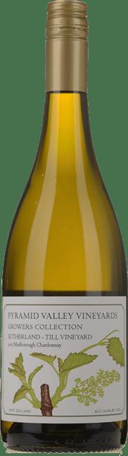 PYRAMID VALLEY VINEYARDS Growers Collection Sutherland-Till Vineyard Chardonnay, Marlborough 2015