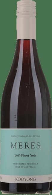 KOOYONG WINES Meres Pinot Noir, Mornington Peninsula 2015