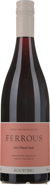 KOOYONG WINES Ferrous Pinot Noir, Mornington Peninsula 2015