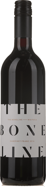 THE BONE LINE, Cabernet Franc, Waipara 2016
