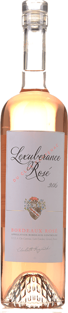 L'EXUBERANCE ROSE DU CLOS CANTENAC, Bordeaux Rose 2016