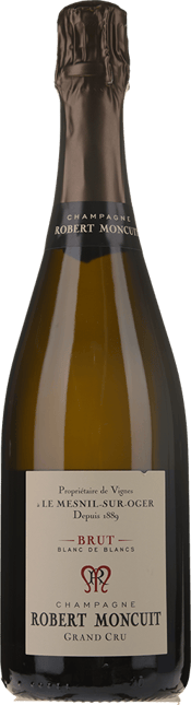 ROBERT MONCUIT Le Mensil Sur Oger Grand Cru, Champagne NV