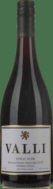 VALLI Bannockburn Vineyard Pinot Noir, Central Otago 2014