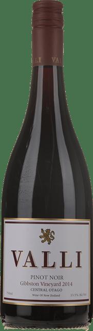 VALLI Gibbston Vineyard Pinot Noir, Central Otago 2014