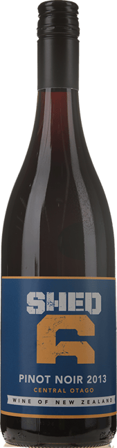 SHED 6 Pinot Noir, Central Otago 2013