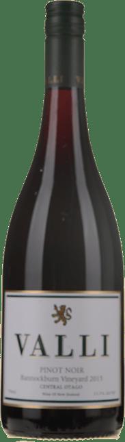 VALLI Bannockburn Vineyard Pinot Noir, Central Otago 2015