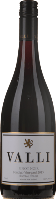 VALLI Bendigo Vineyard Pinot Noir, Central Otago 2015