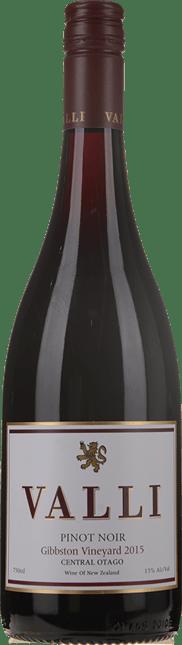 VALLI Gibbston Vineyard Pinot Noir, Central Otago 2015