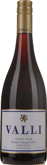 VALLI Waitaki Vineyard Pinot Noir, Central Otago 2015