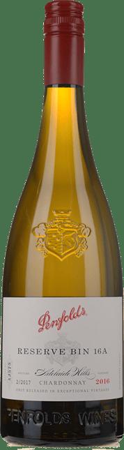 PENFOLDS Reserve Bin 16A Chardonnay, Adelaide Hills 2016