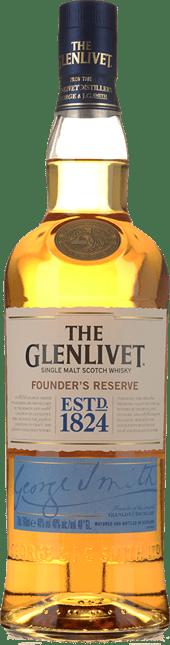 THE GLENLIVET, Founder's Reserve, Scotland NV