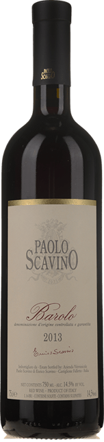 PAOLO SCAVINO, Barolo DOCG 2013