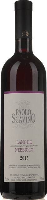 PAOLO SCAVINO Langhe Nebbiolo, Langhe 2015