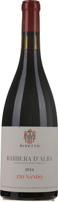 RIVETTO Zio Nando, Barbera d'Alba 2014