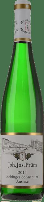 JOH. JOS. PRUM Zeltinger Sonnenuhr Riesling-Auslese, Mosel-Saar-Ruwer 2015