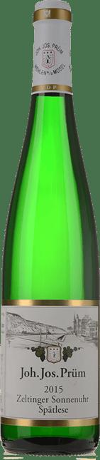 JOH. JOS. PRUM Zeltinger Sonnenuhr Riesling-Spatlese, Mosel 2015