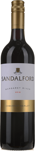 SANDALFORD Margaret River Cabernet Merlot 2016