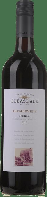 BLEASDALE VINEYARD Bremerview Shiraz, Langhorne Creek 2015