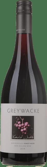 GREYWACKE Pinot Noir, Marlborough 2014