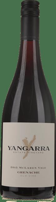 YANGARRA ESTATE VINEYARD Old Vine Grenache, McLaren Vale 2015