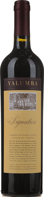YALUMBA The Signature Cabernet Shiraz, Barossa 2013