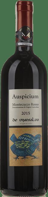 DE VINOSALVO, Auspicium, Montecucco DOC Rosso  2015