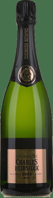 CHARLES HEIDSIECK Brut, Champagne 2005