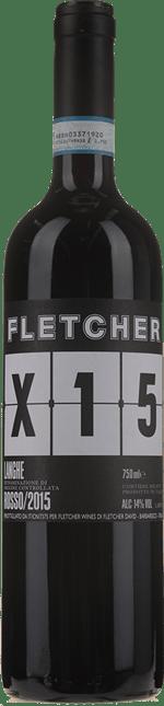 FLETCHER WINES, X15 Langhe Rosso DOC  2015