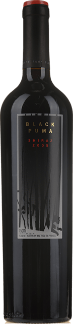 WARRENMANG Black Puma Shiraz, Pyrenees 2005
