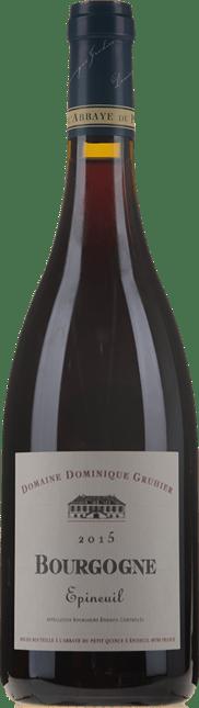 DOMAINE Dominique Gruhier Epineuil Bourgogne 2015