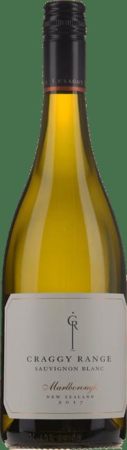 CRAGGY RANGE WINERY Marlborough Sauvignon Blanc, Marlborough 2017