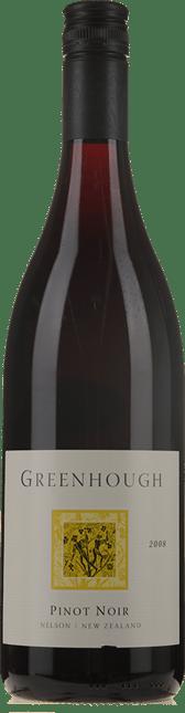 GREENHOUGH Pinot Noir, Nelson 2008