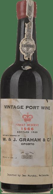 GRAHAM'S Finest Reserve Vintage Port, Oporto 1966