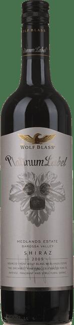 WOLF BLASS WINES Platinum Label Medlands Estate Shiraz, Barossa Valley 2009